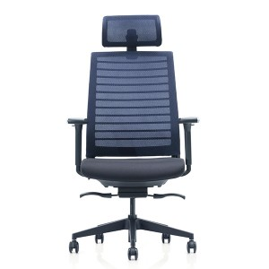OEM Manufacturer Foshan Lowest Mesh Swivel Executive Office Chair High Back Chairs CH-242
