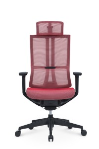 Full mesh office chair with headrest