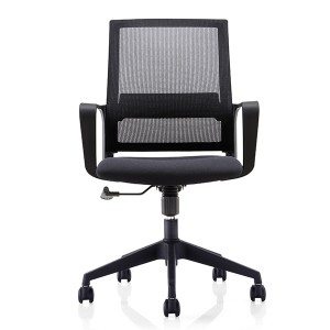 OEM Manufacturer Foshan Lowest Mesh Swivel Executive Office Chair Mid-back Chairs CH-219B