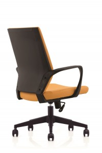 Task Leather Chair with Nylon Back