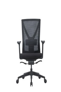 Adjustable Seat Back Mesh Staff Chair