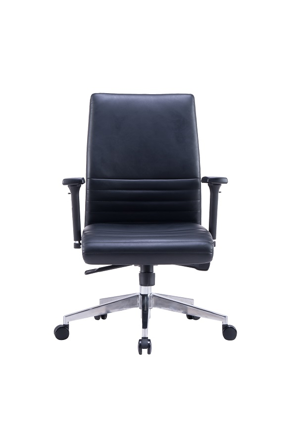 Modern Ergonomic Leather Chair Featured Image
