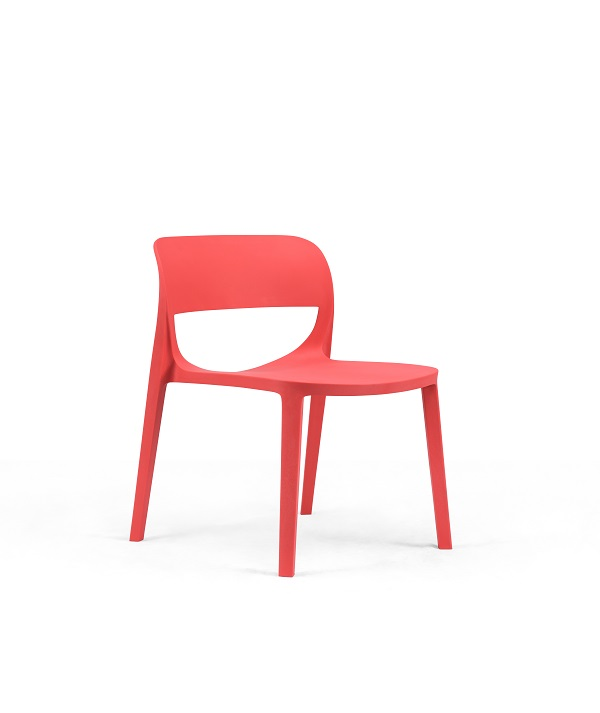Design Chair Leisure Chair Colorful Plastic Chair  With or Without Amrest EAI-001C Featured Image