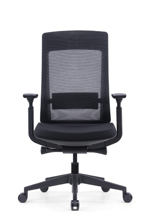 EVL-001B Office chair with bock mechanism (5)