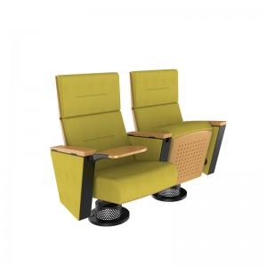 Modern auditorium cinema chair