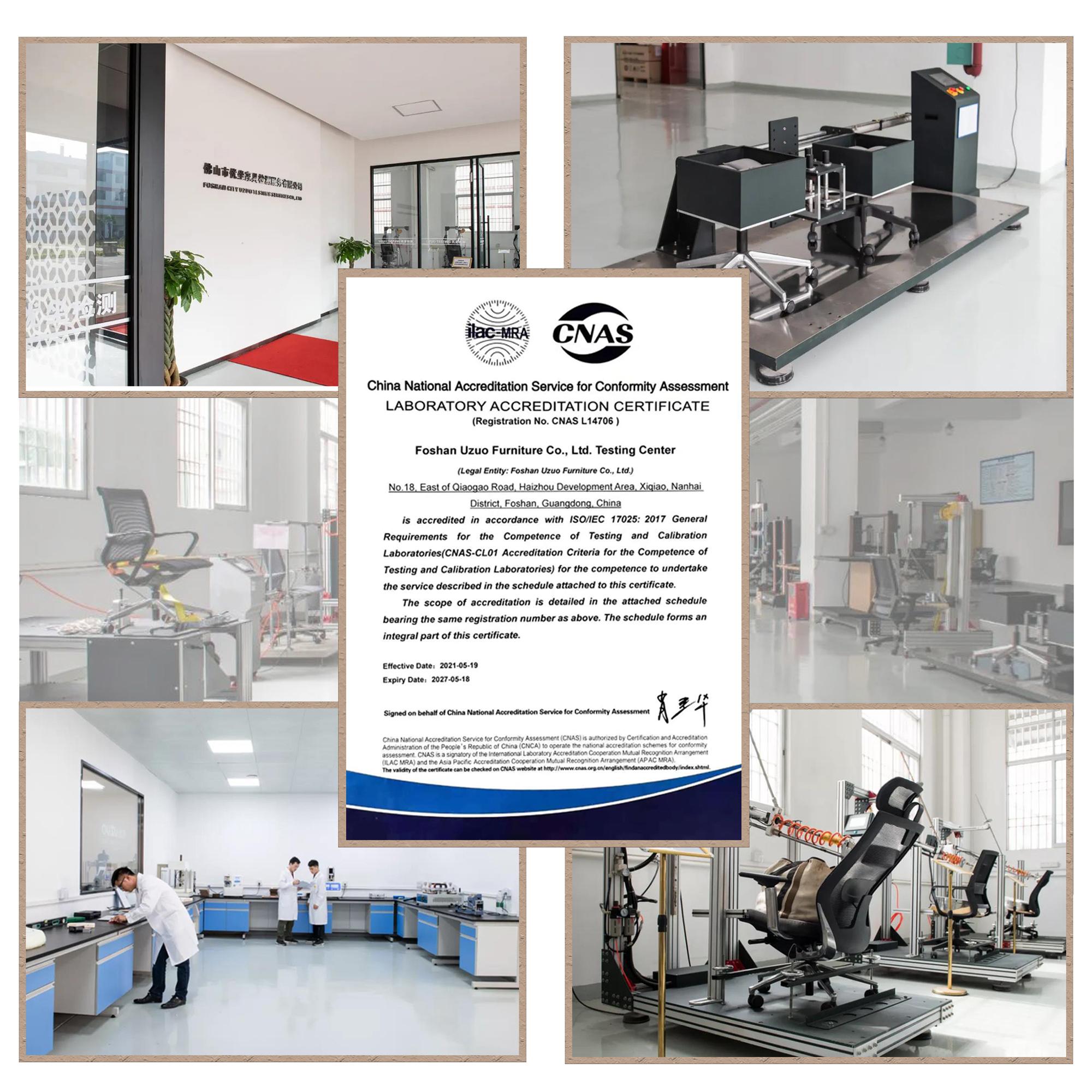 Laboratory certificate