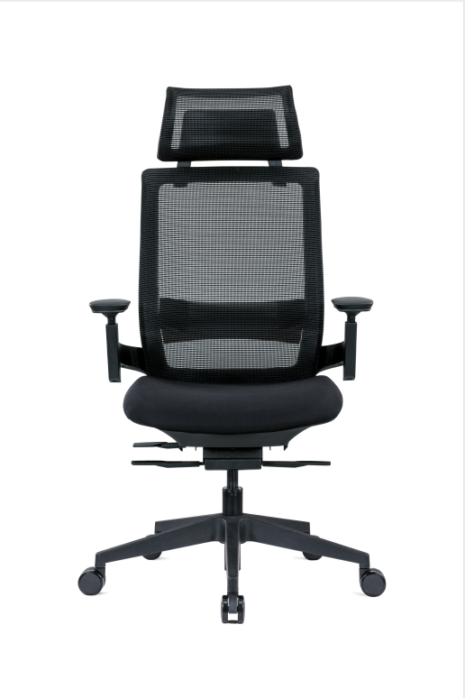 Design Chair Foshan factory  High Back Chair Adjustable Pillow Comfortable Office Chair EEM-002A Featured Image