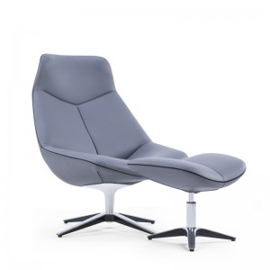 Lounge sofa chair with footrest