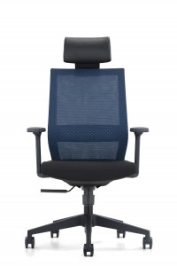 PU Adjustable headrest Executive Office Chair
